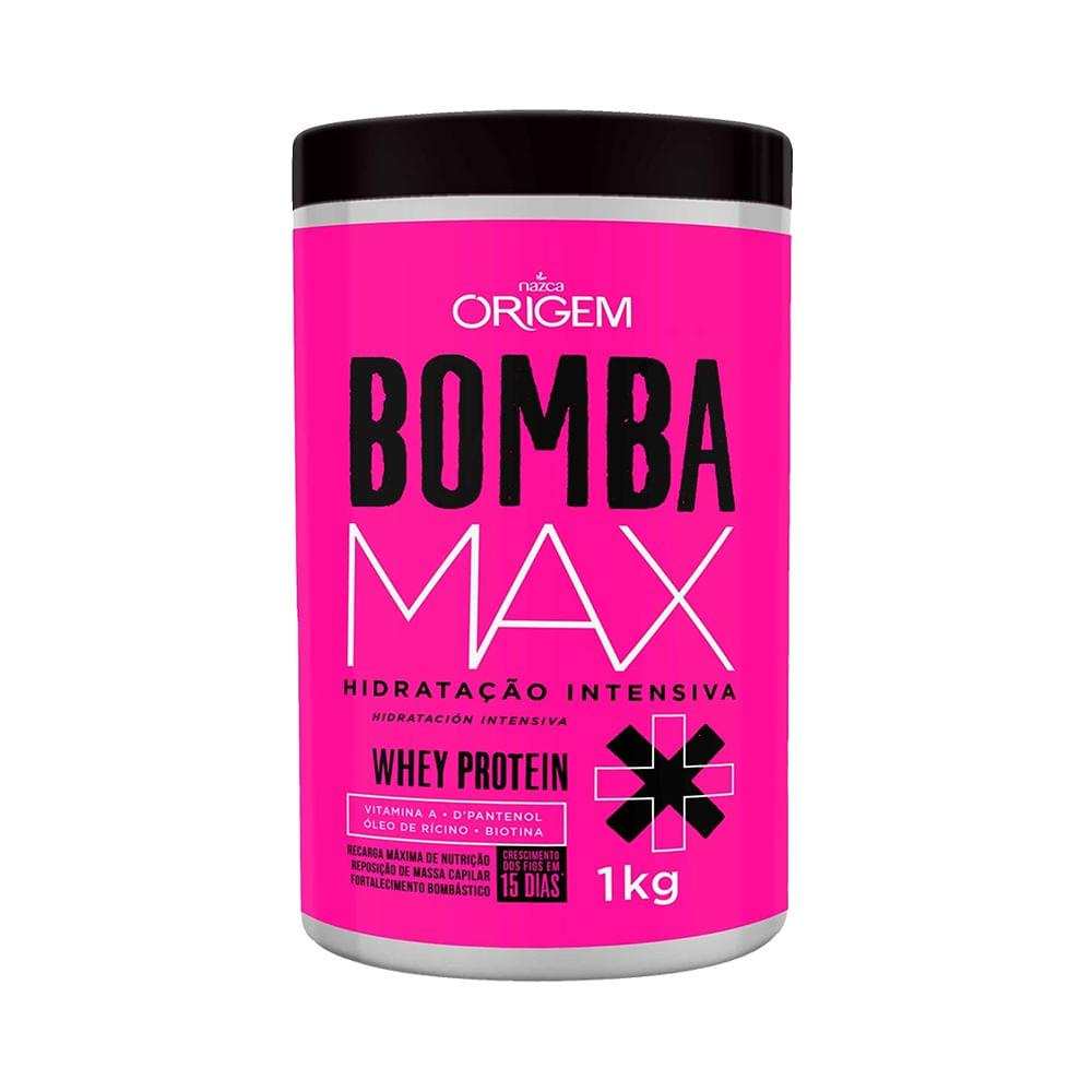 7817e9eb5 Máscara de Hidratação Intensa Bomba Max Origem Nazca 1000G| Ikesaki ...