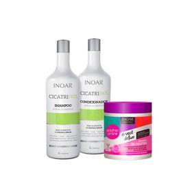Kit-Inoar-Shampoo---Condicionador-Cicatrifios-1000ml-Gratis-Gelatina-Cachos-Online-500g