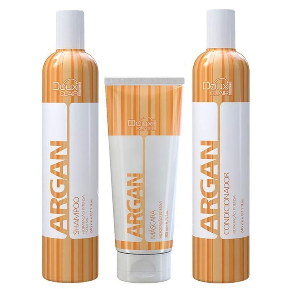 Kit-Shampoo---Condicionador---Mascara-Argan-Effects-Doux-Clair