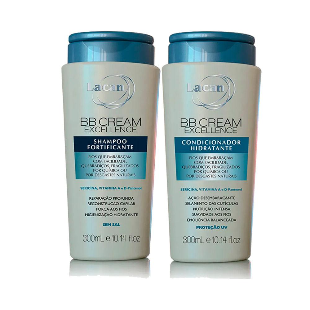 Kit-Lacan-BB-Cream-Excellence-Shampoo---Condicionador-300ml