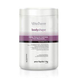Creme-Redutor-Corporal-Para-Massagem-BodyShape-VitaDerm-1KG