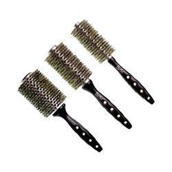 Kit-Proart-3-Escovas-Modeladoras-para-Cabelos-Finos-e-Com-Quimica