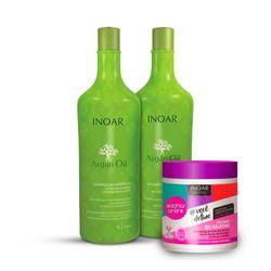 Kit-Inoar-Argan-Oil-Shampoo---Condicionaodr-1000ml-Gratis-Gelatina
