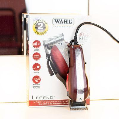 Maquina-de-Corte-Wahl-127V-Legend-VermelhaCinza