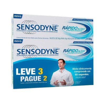 Kit-Creme-Dental-Sensodyne-50g-Rapido-Alivio-Leve-3-Pague-2