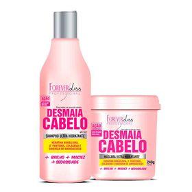 Kit-Forever-Liss-Desmaia-Cabelo-Shampoo-300ml---Mascara