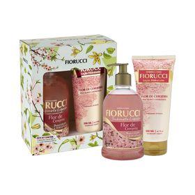 Kit-Fiorucci-Sabonete-Liquido---Hidratante-Flor-de-Cerejeira