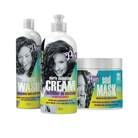 Kit-Soul-Power-Creme-de-Pentear-Curly-Creme-de-Pentear---Mascara-Gratis-Shampoo-Magic-Wash-315ml
