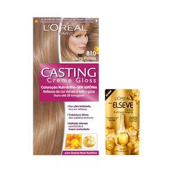 Kit-Coloracao-Casting-Gloss-810-Louro-Perola-Gratis-Oleo-Extraordinario-Elseve-Gota-45ml