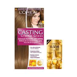 Kit-Coloracao-Louro-Natural-Casting-Creme-Gloss-700-Gratis-Oleo-Extraordinario-Elseve-Gota-45ml