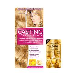 Kit-Coloracao-Casting-Gloss-800-Louro-Claro-Gratis-Oleo-Extraordinario-Elseve-Gota-45ml