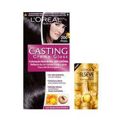 Kit-Coloracao-Casting-Creme-Gloss-Preto-200-Gratis-Oleo-Extraordinario-Elseve-Gota-45ml