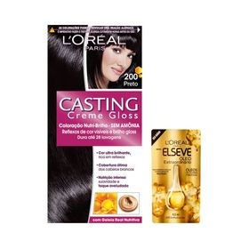 Kit-Coloracao-Casting-Creme-Gloss-Preto-200-Gratis-Oleo-Extraordinario-Elseve-Gota-45ml