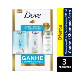 Kit-Shampoo-400ml---Condicionador-Dove-200ml-Hidratacao-Intensa-Gratis-Shampoo-a-Seco-Dove