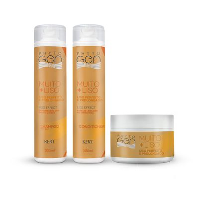 Kit-Kert-Phytogen-Muito---Liso-Shampoo-300ml---Mascara-300g-Gratis-Condicionador-300ml