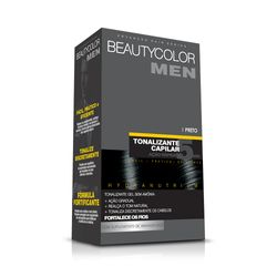 Tonalizante-Capilar-Gel-Sem-Amonia--preto-Beauty-Color-Men