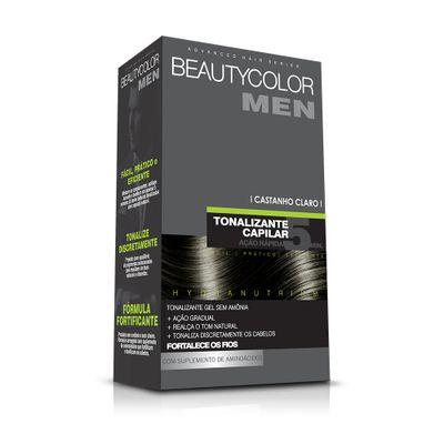 Tonalizante-Capilar-Gel-Sem-Amonia-Castanho-Claro-Beauty-Color-Men