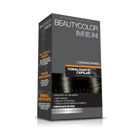 Tonalizante-Capilar-Gel-Sem-Amonia-Castanho-Natural-Beauty-Color-Men