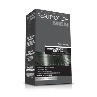 Tonalizante-Capilar-Gel-Sem-Amonia-Cinza-Natural-Beauty-Color-Men