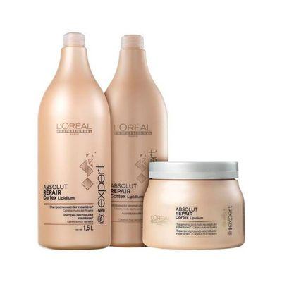 Kit-Shampoo---Condicionador-Serie-Expert-Absolut-Repair-Lipidium-Gratis-Mascara-500g