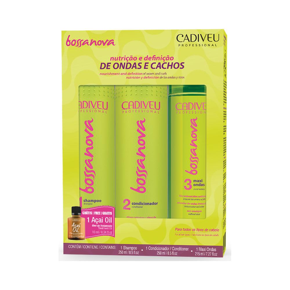 Kit-Cadiveu-Bossa-Nova-Shampoo-250ml---Condicionador-250ml---Maxi-Ondas-215ml-51689.00