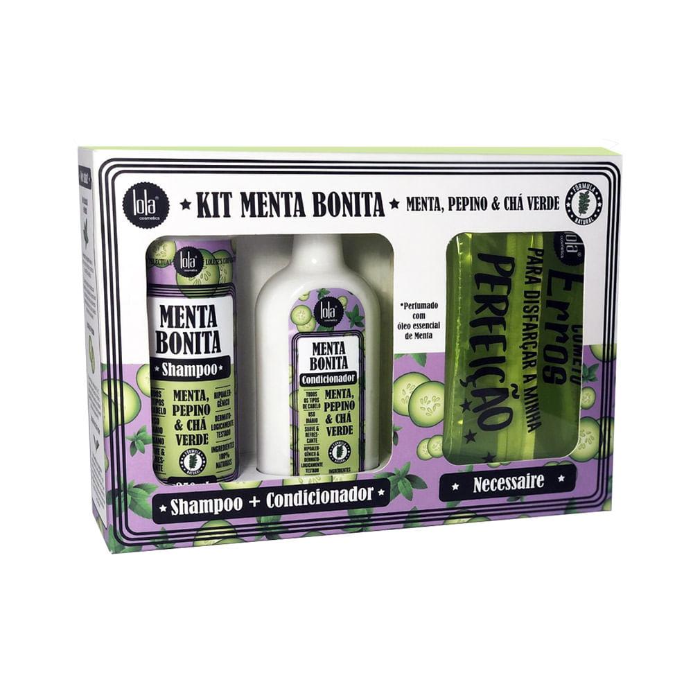 Kit-Lola-Menta-Bonita-Shampoo-250ml---Condicionador-180g--Gratis-Necessaire-34823.00
