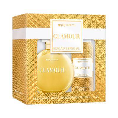 Kit-Phytoderm-Glamour-Deo-Colonia-100ml---Desodorante-Aerosol-110ml-caixa