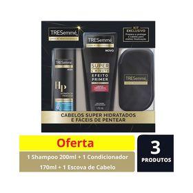 Kit-Shampoo-200ml---Super-Condicionador-170ml-Gratis-Escova-de-CabeloTresemme