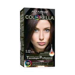 Coloracao-Colorella-5.32-Castanho-Claro-Irise-Alfaparf