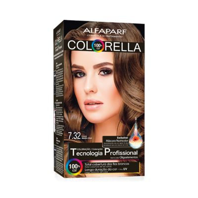 Coloracao-Colorella-7.32-Louro-Medio-Irise-Alfaparf