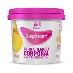 Cera-Cremosa-Corporal-para-Micro-Ondas-Depilsam-Argan-200g-10933.04