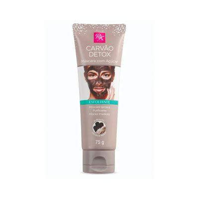 Mascara-Facial-Esfoliante-Rk-By-Kiss-Carvao-Detox-com-Acucar-75g