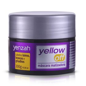 Mascara-Matizadora-Yenzah-Yellow-Off-300g
