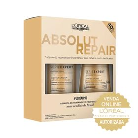 Kit-Serie-Expert-Shampoo---Mascara-Absolut-Repair-Lipidium-250ml