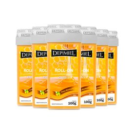 Leve-6-Pague-5-Cera-Roll-On-Classica-Depimiel-100G