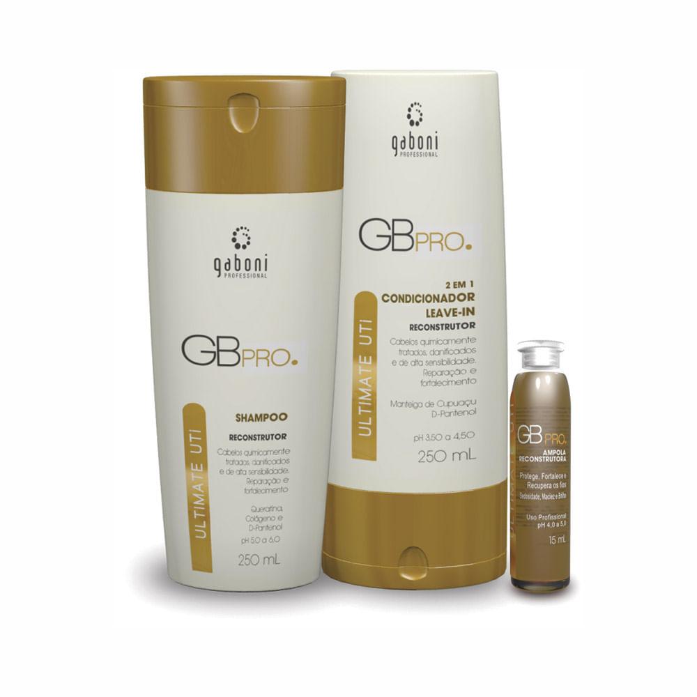 Kit-Ultimate-Uti-Gaboni-Shampoo-250ml---Condicionador-250ml---Ampola-15ml