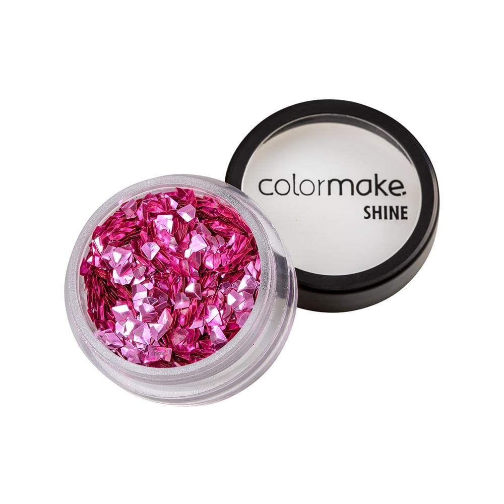 Glitter-ColorMake-Shine-Diamante-3D-Rosa