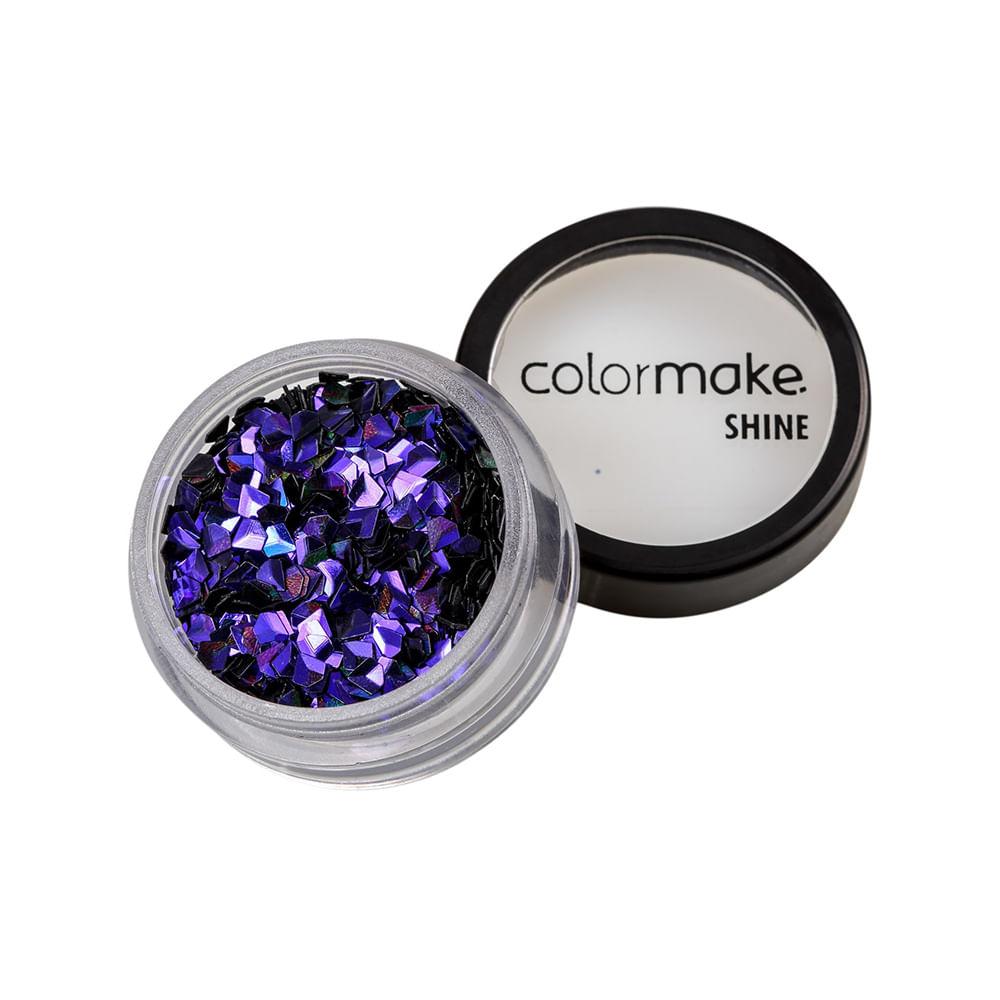 Glitter-ColorMake-Shine-Diamante-3D-Roxo