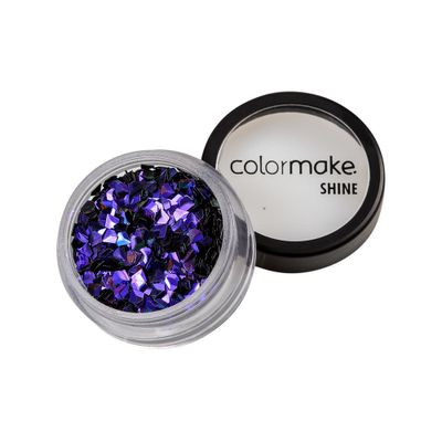 Glitter-ColorMake-Shine-Diamante-3D-Roxo