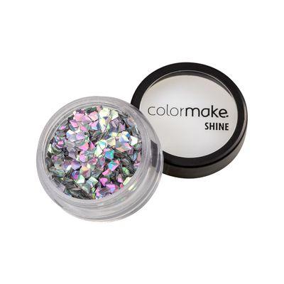 Glitter-ColorMake-Shine-Diamante-3D-Prata-Holografico