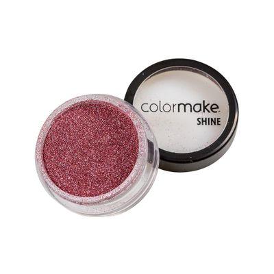 Glitter-ColorMake-Shine-Extra-Fino-Rosa