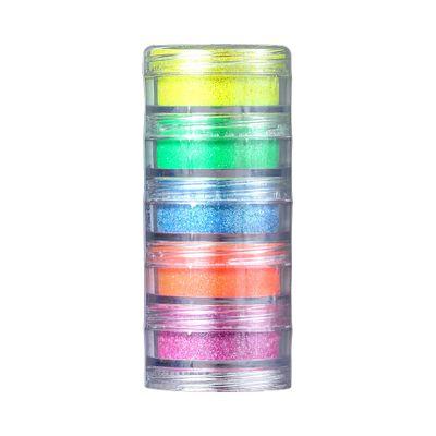 Kit-ColorMake-Torre-Glitter-em-Po-Iridescente-Neon-5-Cores2