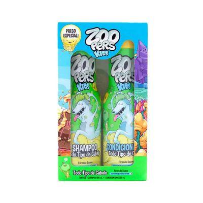 Kit-Zoopers-Kids-Shampoo---Condicionador-Para-Todos-Os-Tipos-de-Cabelos