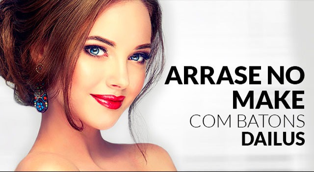 Mobile: Banner Arrase no make com batons dailus