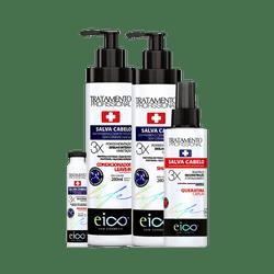 Kit-Eico-Shampoo---Condiconador-280ml---Ampola-45ml-Gratis-Finalizador-Liso-Magico