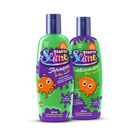 Kit-Shampoo---Condicionador-Beauty-Slime-Verde-Neon-200ml