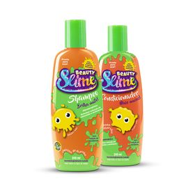 Kit-Shampoo---Condicionador-Beauty-Slime-Laranja-Neon-200ml