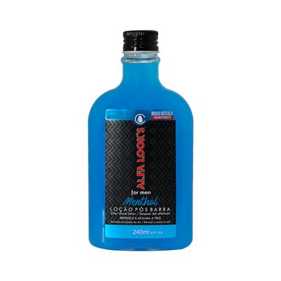 Locao-Pos-Barba-Alfa-Looks-Menthol-240ml