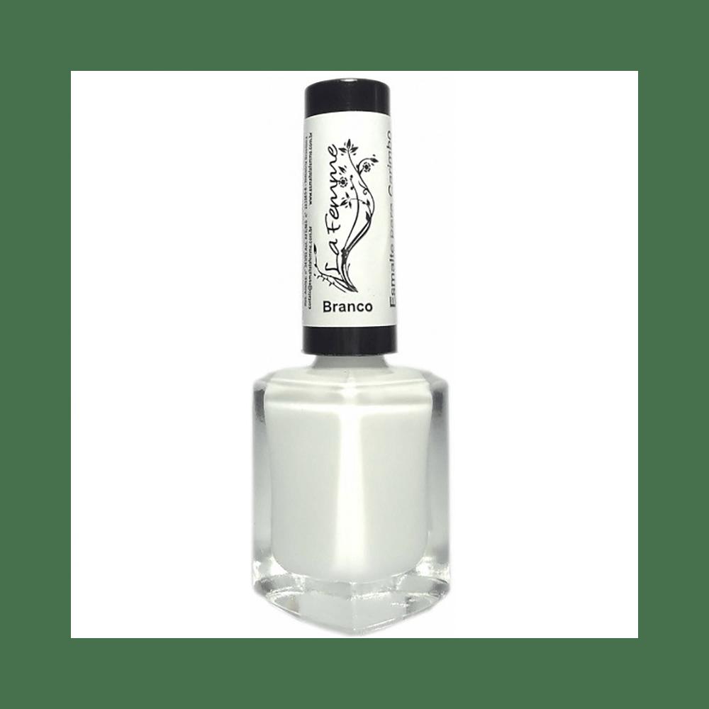 Esmalte-La-Femme-Carimbo-Nail-Art-Branco