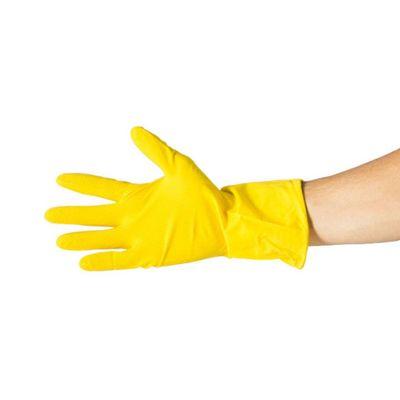 Luva-de-Latex-Bompack-Amarela-Flocada--G-